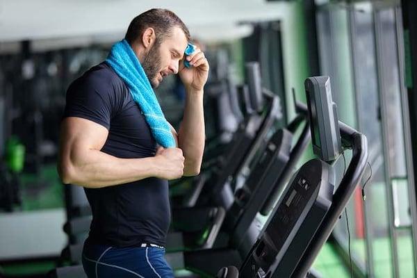 Fitness HIIT treadmill 1