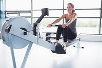 Fitness rowing