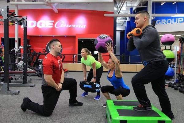 Fitness team training 1