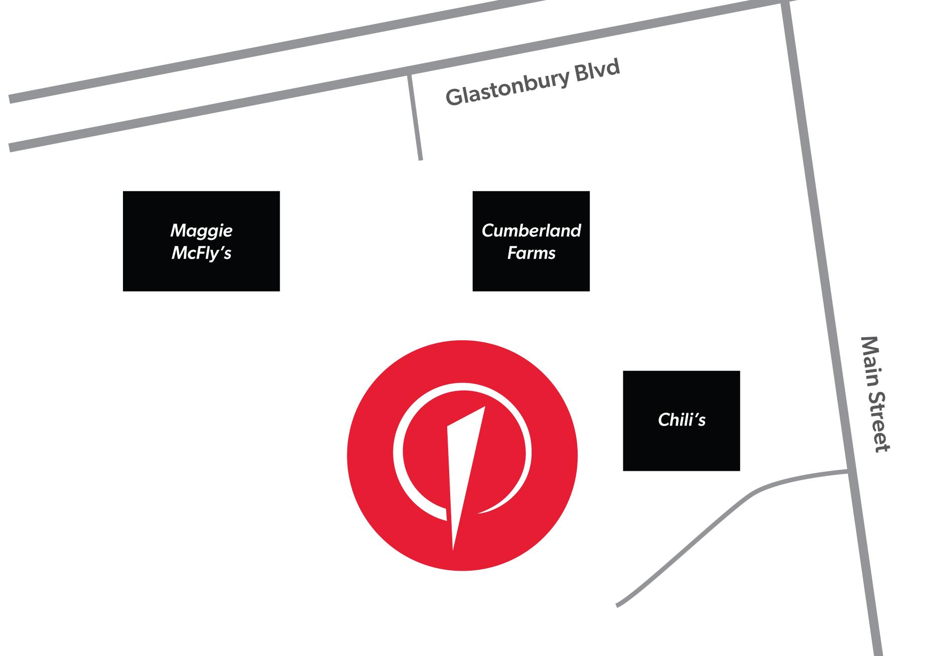 Glastonbury_Club Map