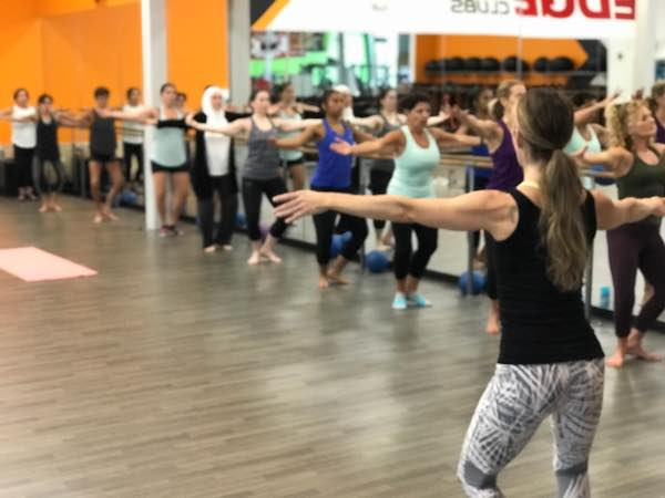 Group Exercise Classes - barre