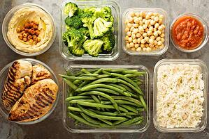 Healthy meal prepping 1