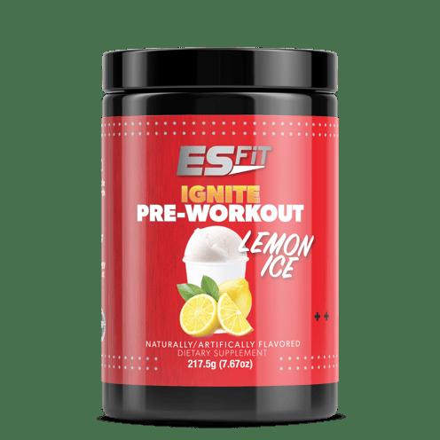 Lemon Ice Pre-Workout ES FIT