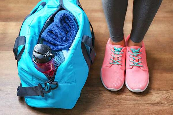 Perfect workout bag gym bag
