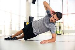 fitness side planks